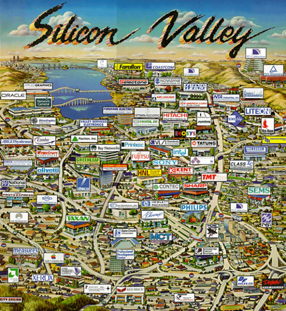 Silicon Valley Corporations